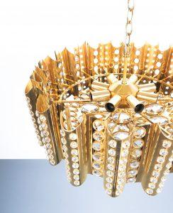 Sciolari chandelier gold 1 Kopie