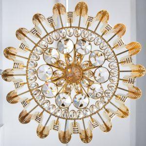 Sciolari chandelier gold 10 Kopie