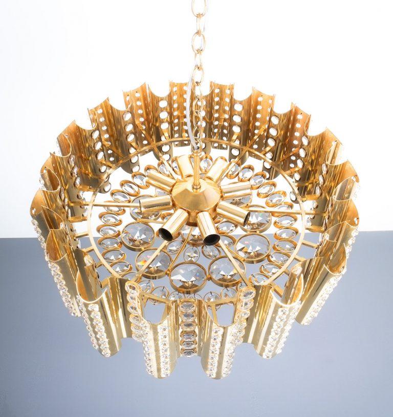 Sciolari chandelier gold 11 Kopie
