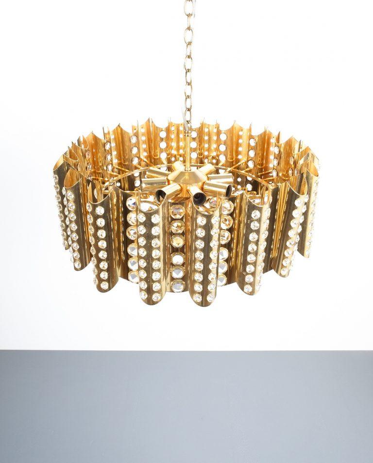 Sciolari chandelier gold 2 Kopie