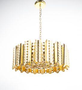 Sciolari chandelier gold 5 Kopie