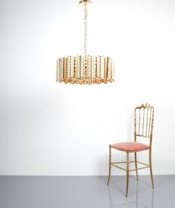 Sciolari chandelier gold 6 Kopie