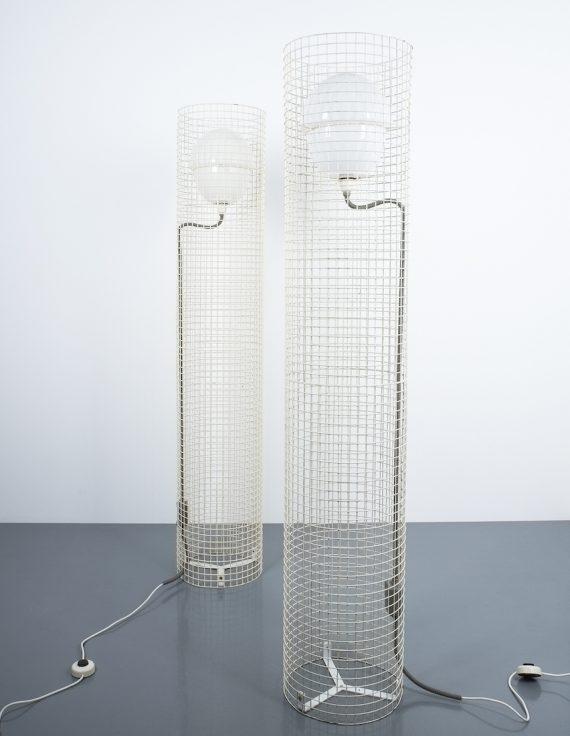 2x Sarfatti floor lights mod.1102_03