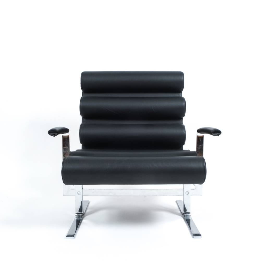 Joe colombo roll leather armchair derive vienna for Lounge chair kopie