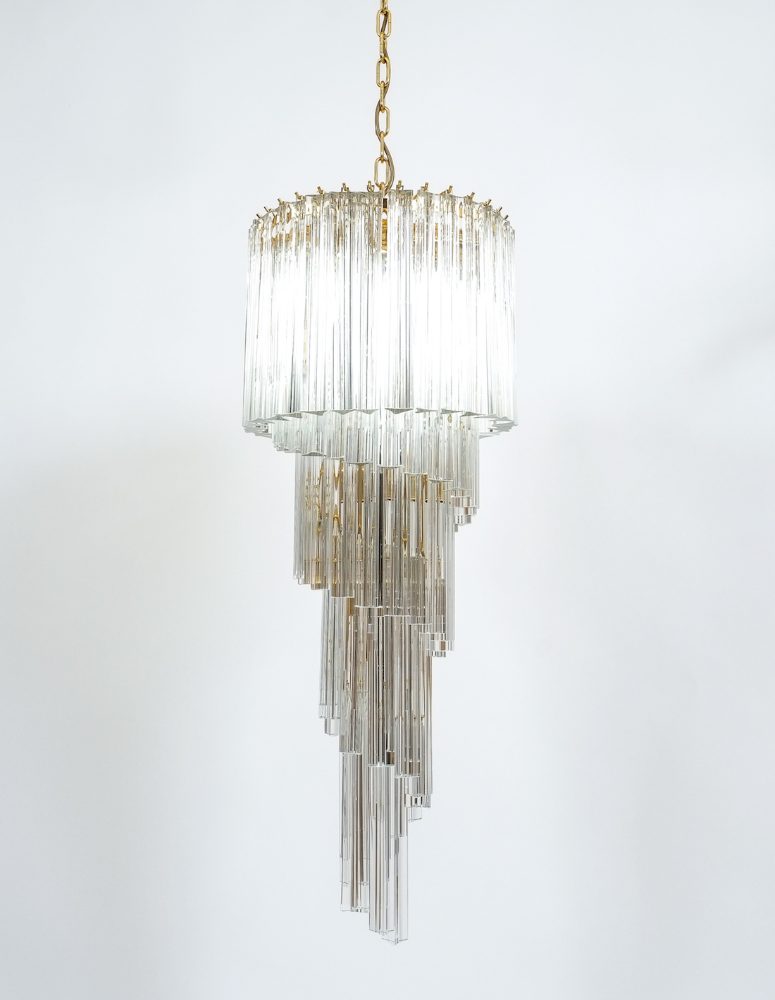 Venini chandelier with murano prisms derive vienna venini chandelier with murano prisms aloadofball Images