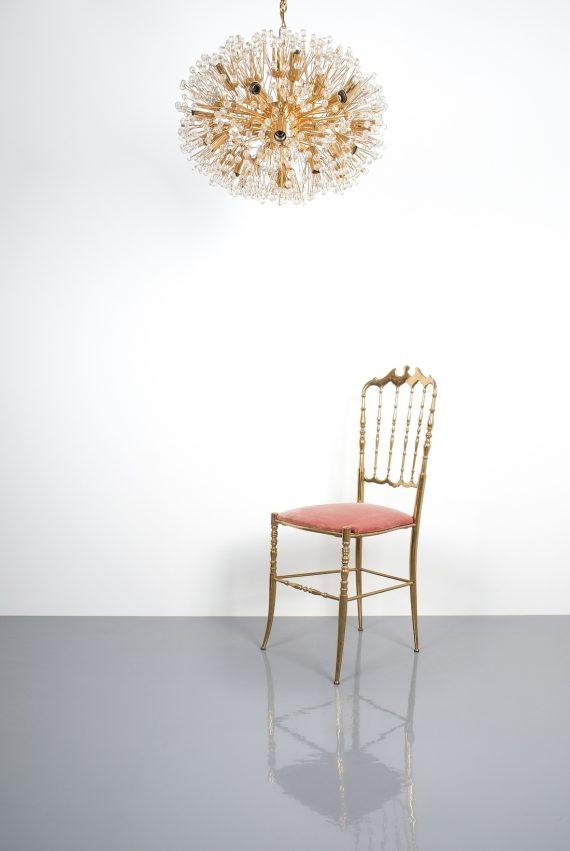 Emil Stejnar chandelier gold 1 Kopie