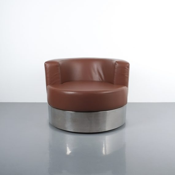 Franco Fraschini driade leather chair_01
