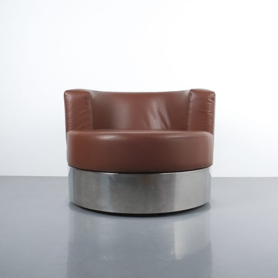Franco Fraschini driade leather chair_02