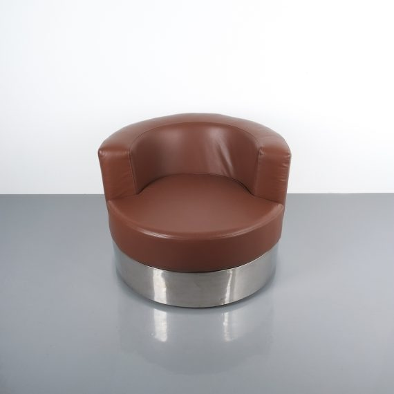 Franco Fraschini driade leather chair_03