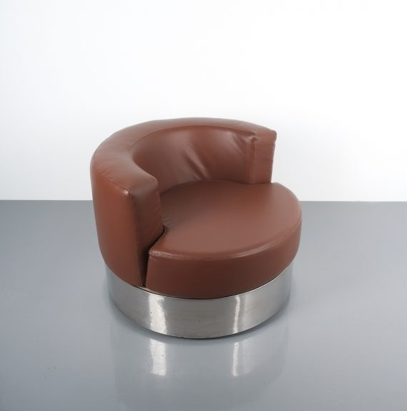 Franco Fraschini driade leather chair_08