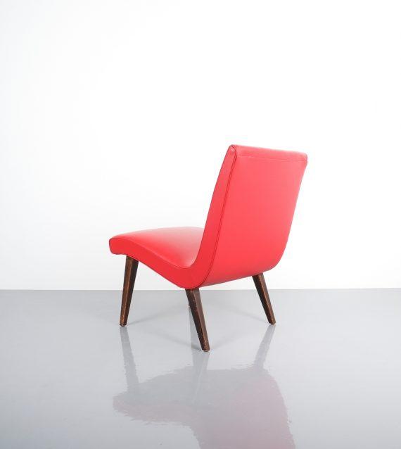 Jens Risom pair vinyl chairs 5 Kopie