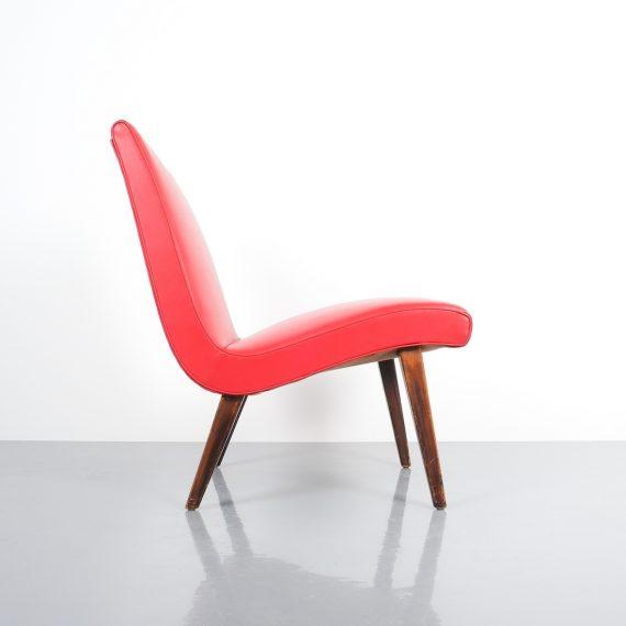Jens Risom pair vinyl chairs 8 Kopie