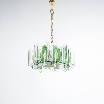 j.t. Kalmar green glass chandelier 1960_02