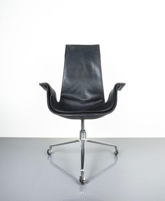 Kastholm fabricius black blue chair_03 Kopie