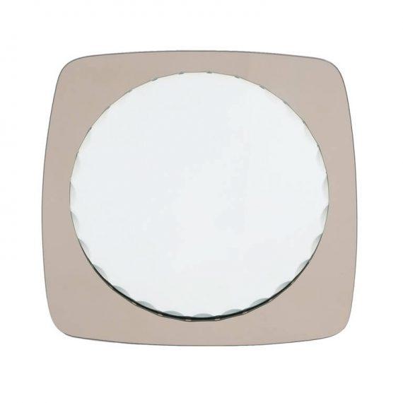 Fontana Arte Style Scalloped Mirror