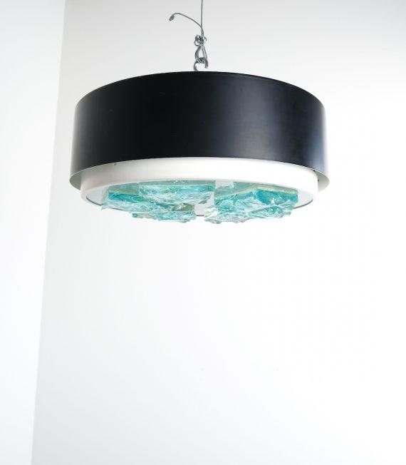 Raak Fontana Arte style flush mount 4 Kopie