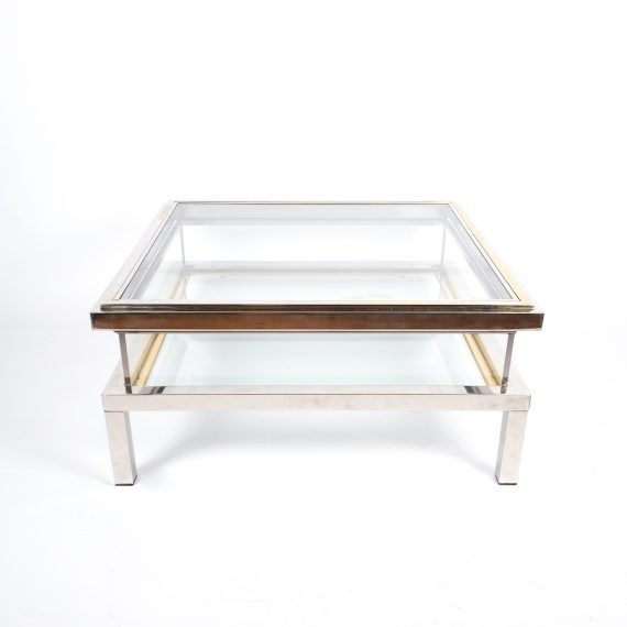 Maison Jansen Coffee Table With Interior Display