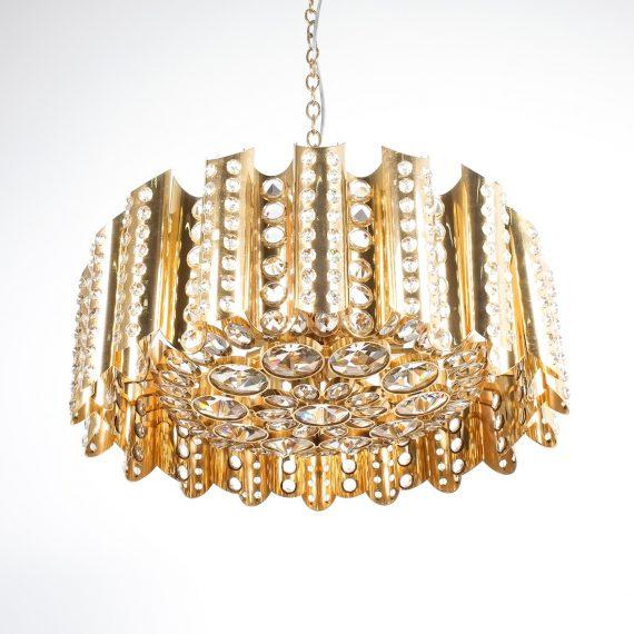 Sciolari chandelier gold 8 Kopie