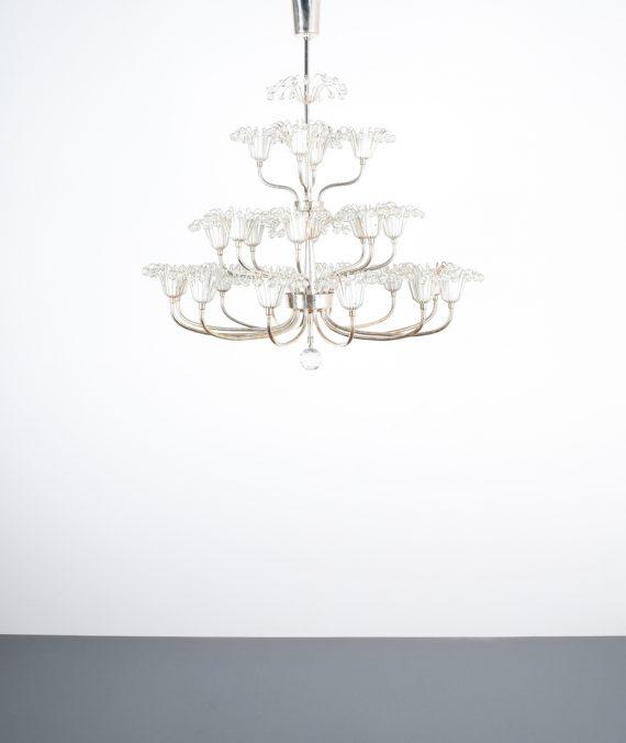 Stejnar wedding cake chandelier silver_01