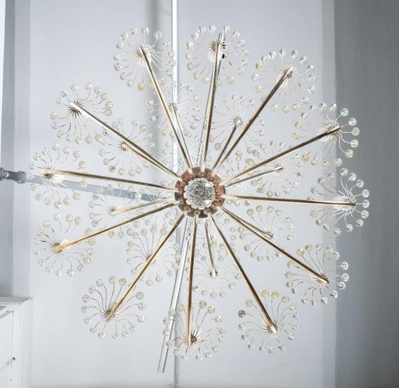 Stejnar wedding cake chandelier silver_11