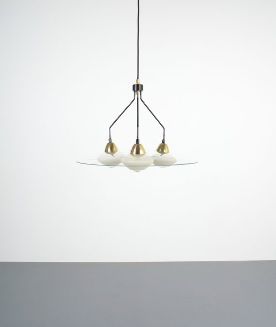 Ufo chandelier France 1950_01
