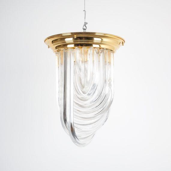 Venini Curved Crystal Glass Brass 1 Kopie