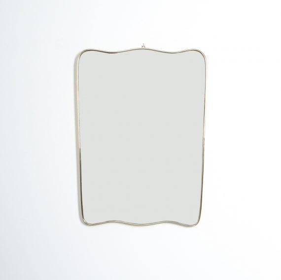 Curved Italian Wall Mirror