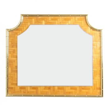 bamboo crespi style brass table 18 Kopie