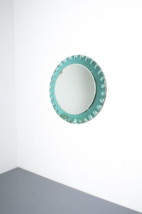 fontana arte green glass mirror bevelled_01