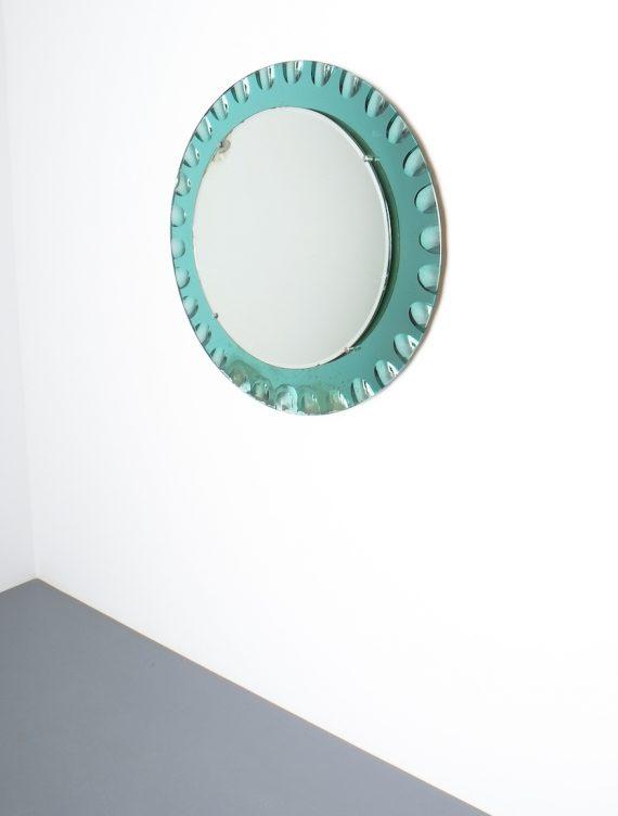 fontana arte green glass mirror bevelled_02