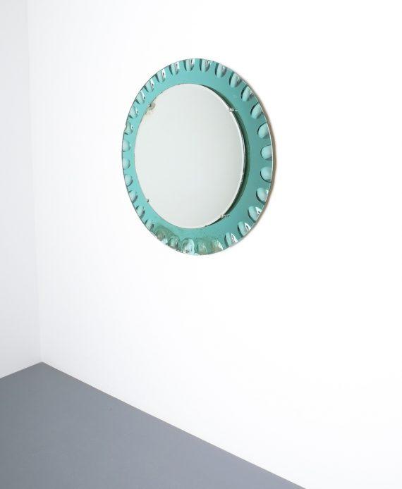 fontana arte green glass mirror bevelled_04