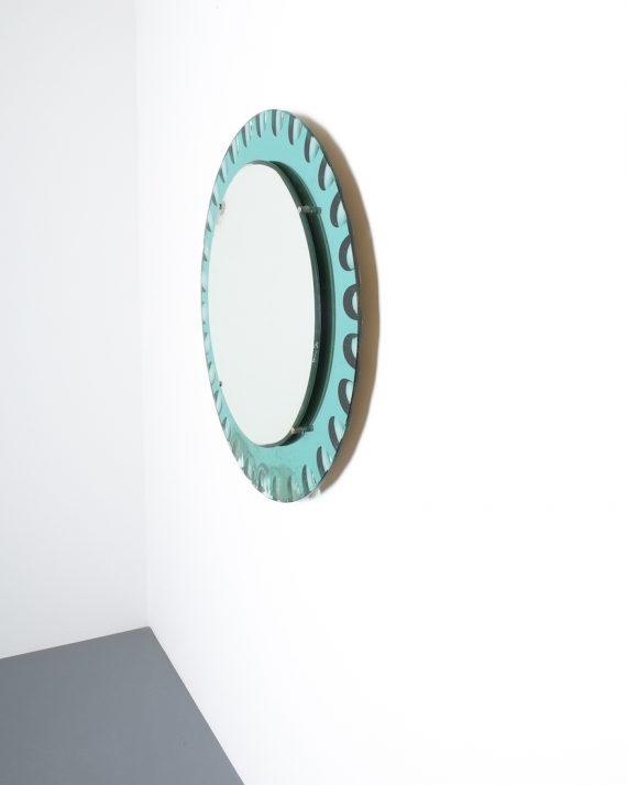 fontana arte green glass mirror bevelled_05