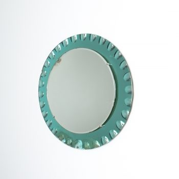 fontana arte green glass mirror bevelled_06