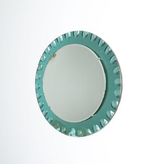 fontana arte green glass mirror bevelled_06