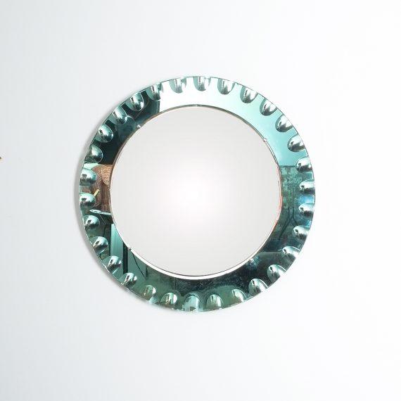 fontana arte green glass mirror bevelled_07