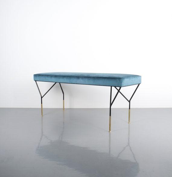 italian velvet bench 1950_01