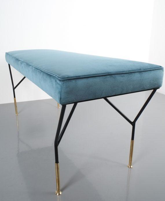 italian velvet bench 1950_06