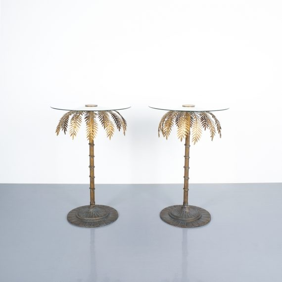 pair palm tree center tables_02