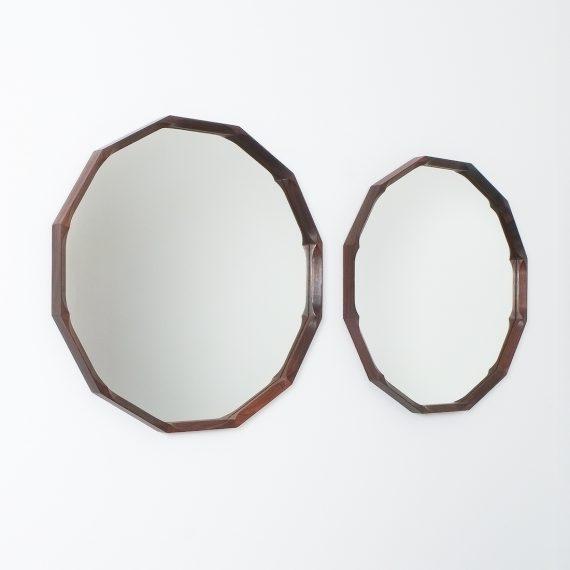 pair walnut mirrors Dino Cavalli_03