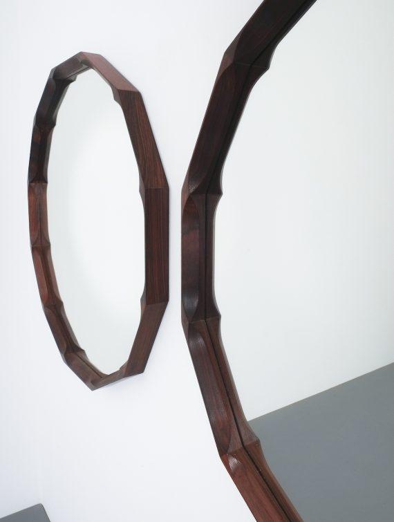 pair walnut mirrors Dino Cavalli_04