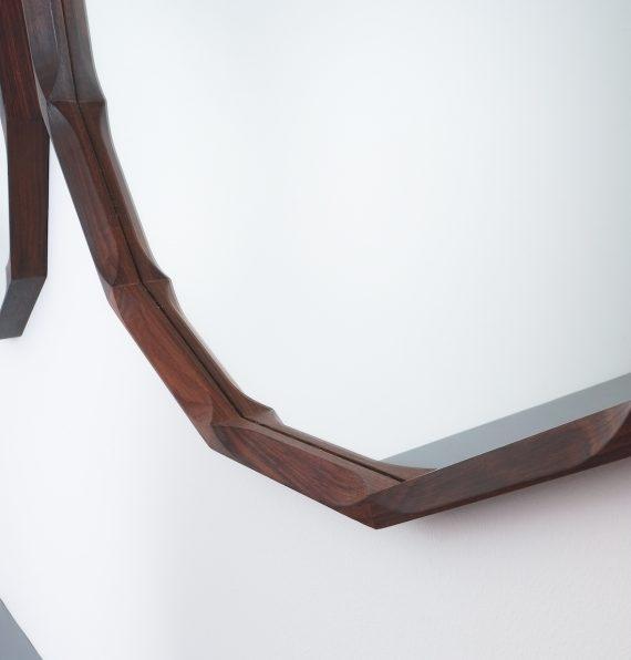 pair walnut mirrors Dino Cavalli_05