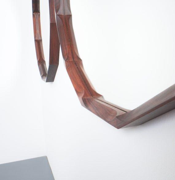 pair walnut mirrors Dino Cavalli_08