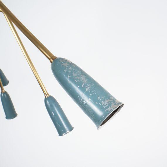 stilnovo large chandelier blue_02