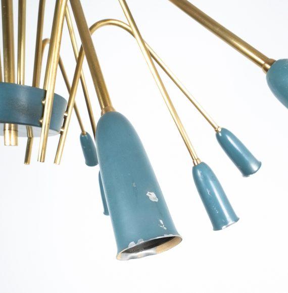 stilnovo large chandelier blue_03