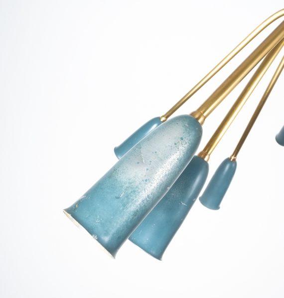 stilnovo large chandelier blue_04