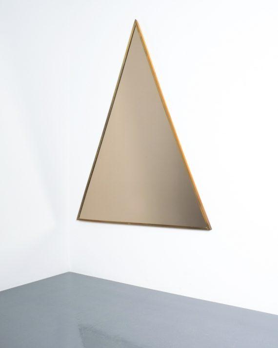 triangular mirror brass italy derive_01