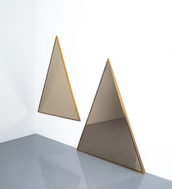 triangular mirror brass italy derive_06