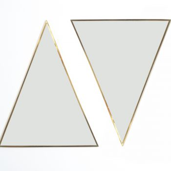 triangular mirror brass italy derive_11