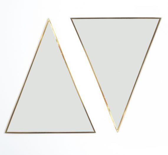 triangular mirror brass italy derive_11