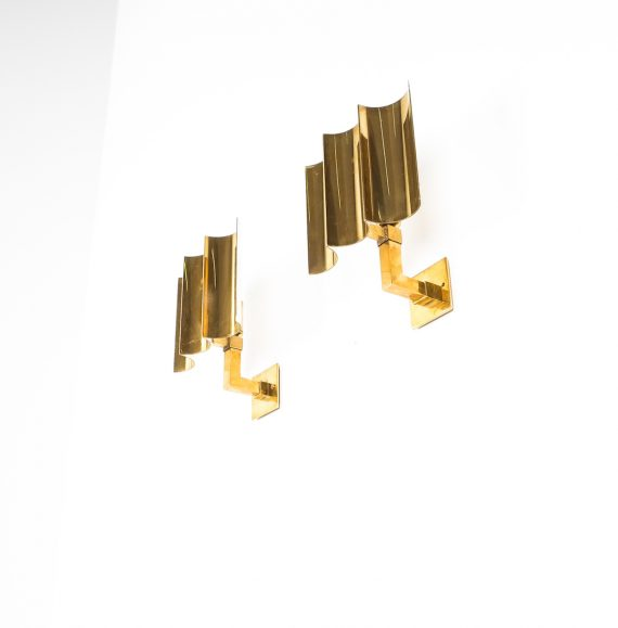wave brass sconces 13 Kopie